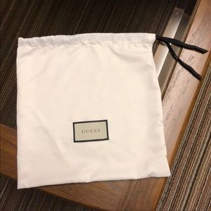 Large Gucci Dustbag